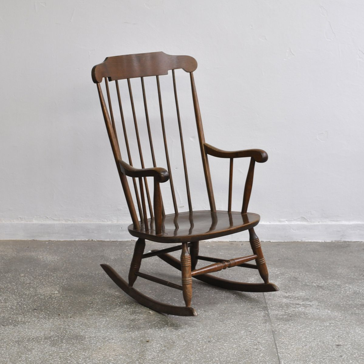 vintage boston rocking chair for sale at pamono. Black Bedroom Furniture Sets. Home Design Ideas