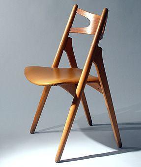 ch29 stuhl von hans j wegner f r carl hansen bei pamono. Black Bedroom Furniture Sets. Home Design Ideas
