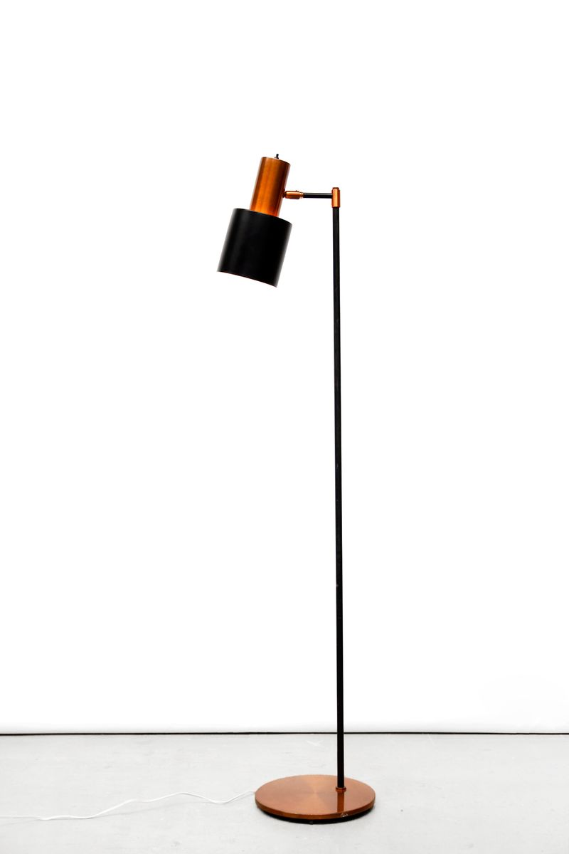studio floor lamp by jo hammerborg for fog morup for sale at pamono