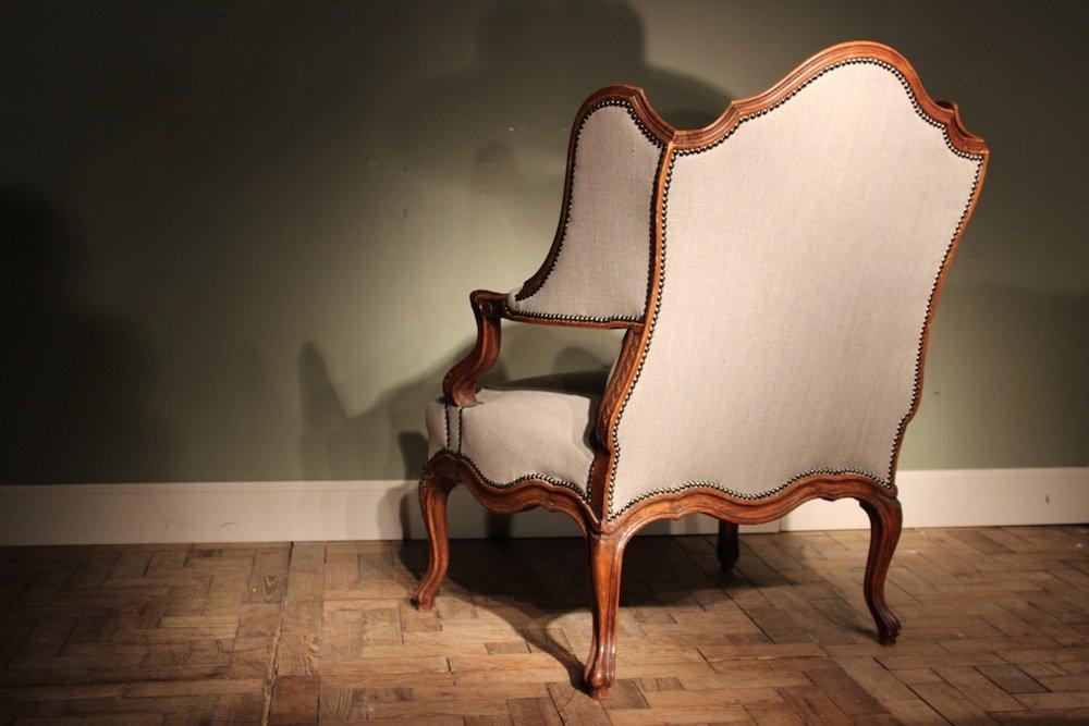 Antiker louis xvi sessel aus frankreich 19 jahrhundert for Sessel 19 jahrhundert