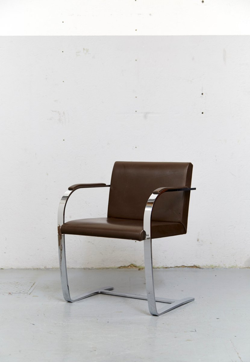 vintage brno cantilever chair by ludwig mies van der rohe. Black Bedroom Furniture Sets. Home Design Ideas
