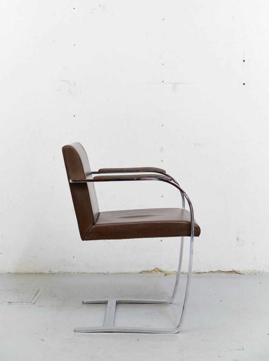 chaise luge brno vintage par ludwig mies van der rohe pour knoll international en vente sur pamono. Black Bedroom Furniture Sets. Home Design Ideas