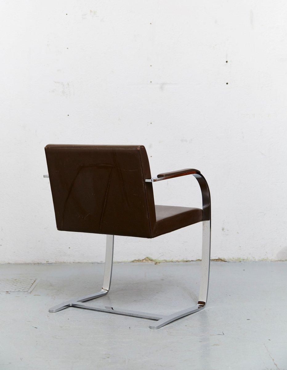 Vintage brno cantilever chair by ludwig mies van der rohe - Mies van der rohe sedia ...