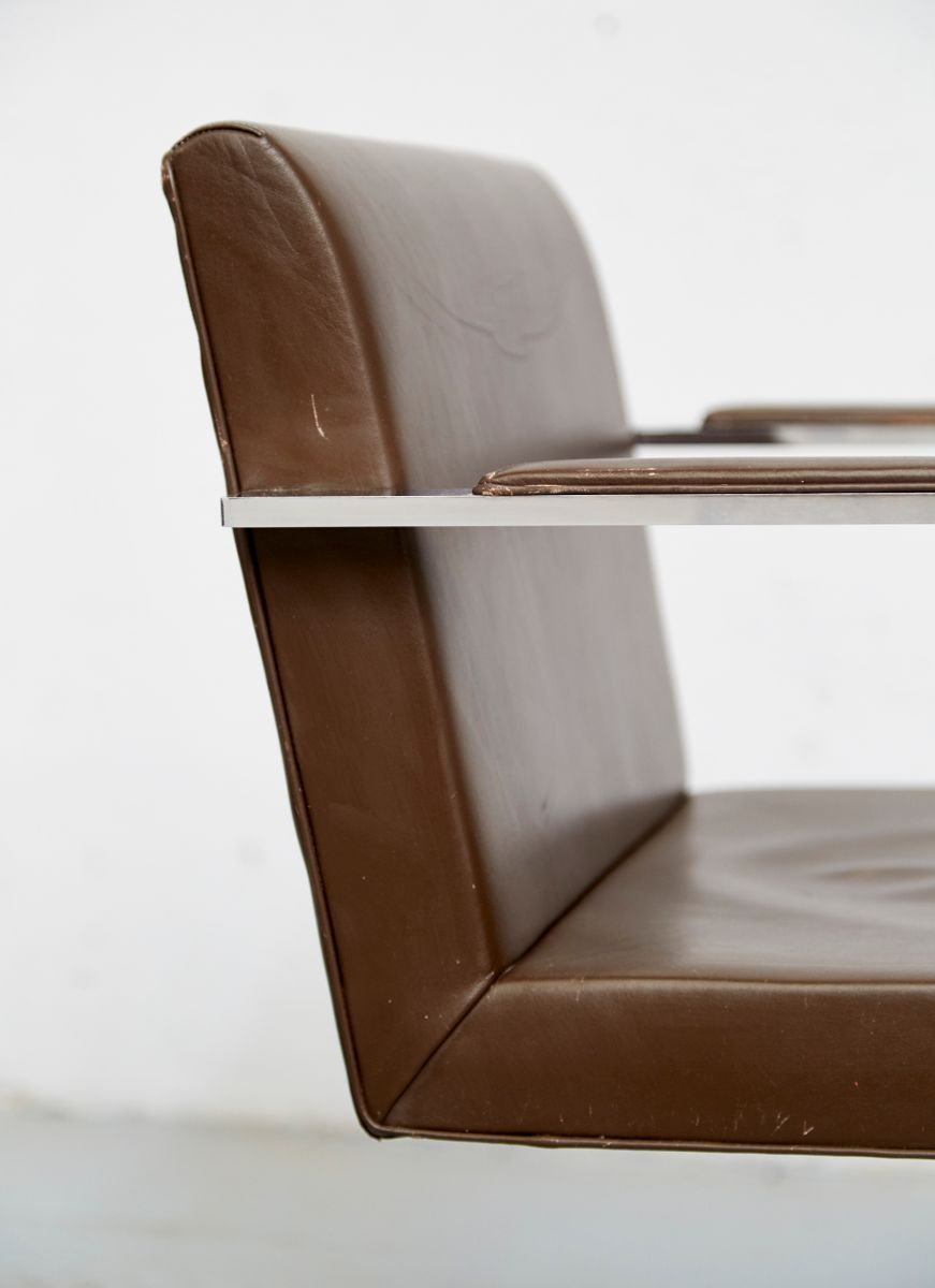 Vintage Brno Cantilever Chair By Ludwig Mies Van Der Rohe