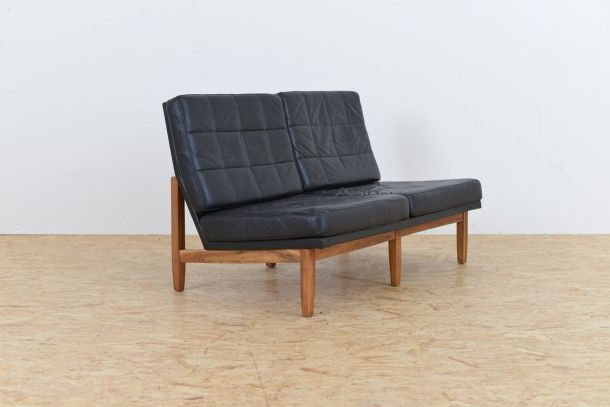 Vintage Two Seater Sofa By Florence Knoll For 1950s 4 Previous