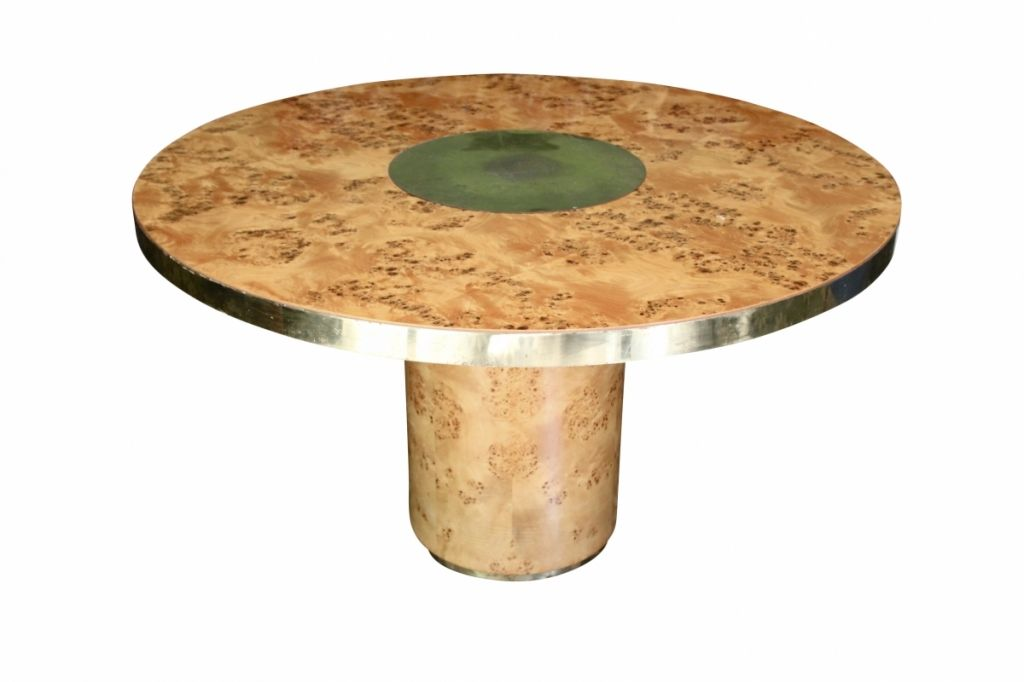 Dining table by willy rizzo for sale at pamono for Table willy rizzo