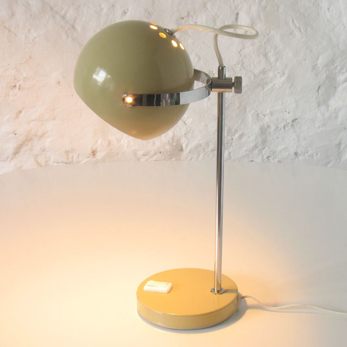 space age table lamp 1970s for sale at pamono. Black Bedroom Furniture Sets. Home Design Ideas