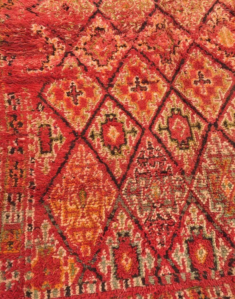 marokkanischer vintage beni mguild teppich bei pamono kaufen. Black Bedroom Furniture Sets. Home Design Ideas