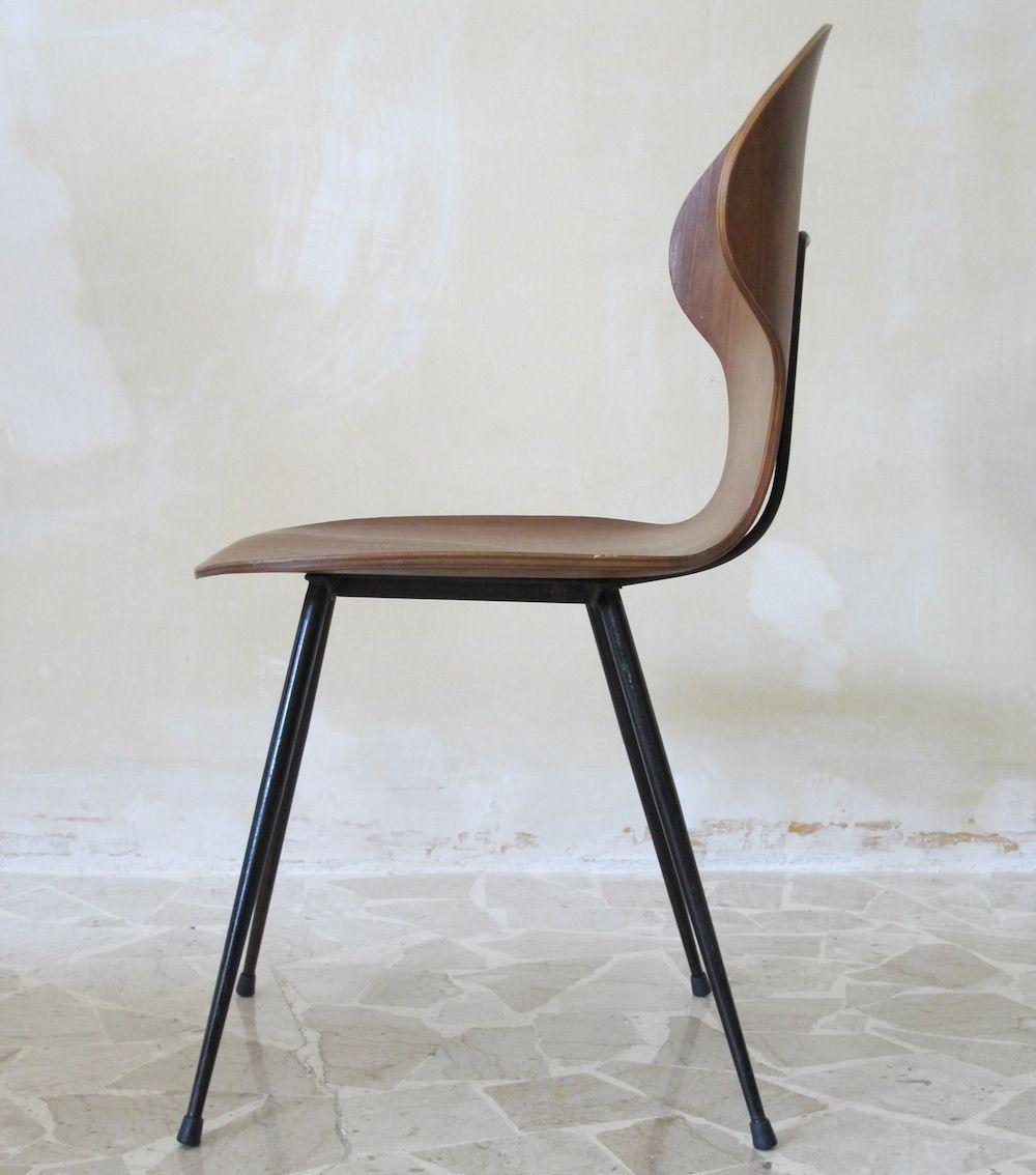 Stuhl von carlo ratti italien 1950er bei pamono kaufen for Stuhl design italien