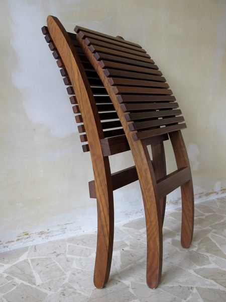 Italian Collapsible Chair For Sale At Pamono