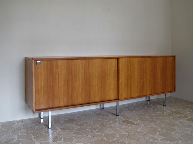 kirschholz sideboard von alfred hendrickx 1950er bei. Black Bedroom Furniture Sets. Home Design Ideas