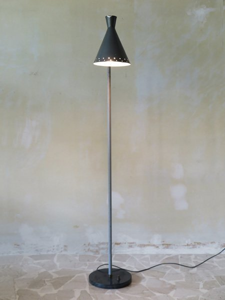 italian floor lamp with marble base 1950s for sale at pamono
