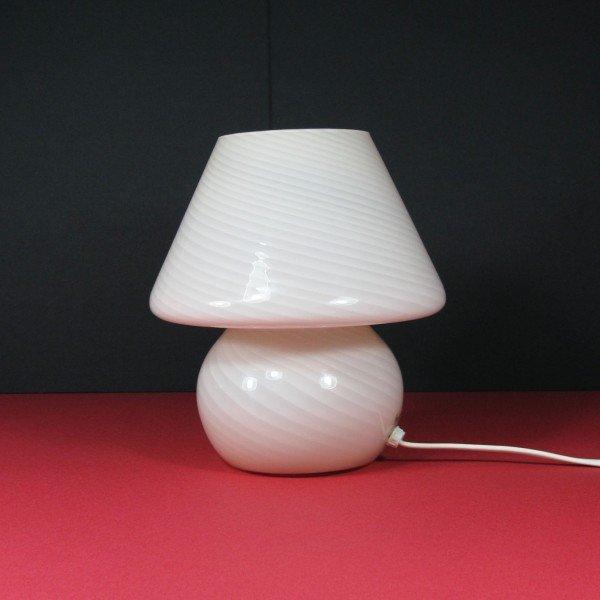 vintage pilz lampe aus murano glas bei pamono kaufen. Black Bedroom Furniture Sets. Home Design Ideas