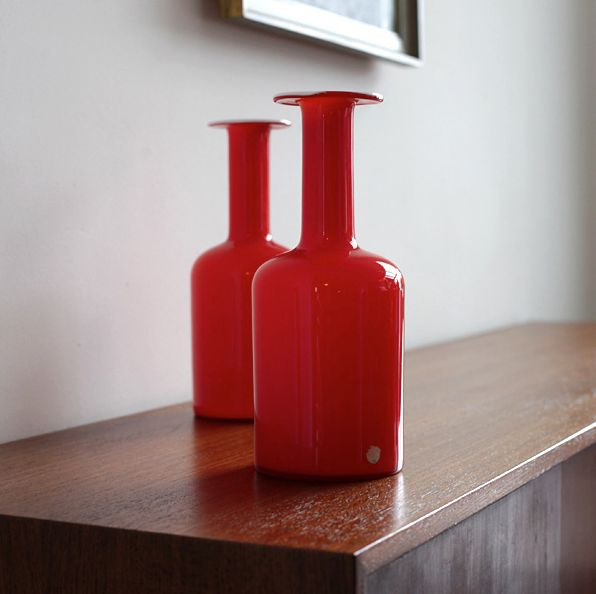 Gulvase Vase By Otto Brauer For Holmegaard For Sale At Pamono