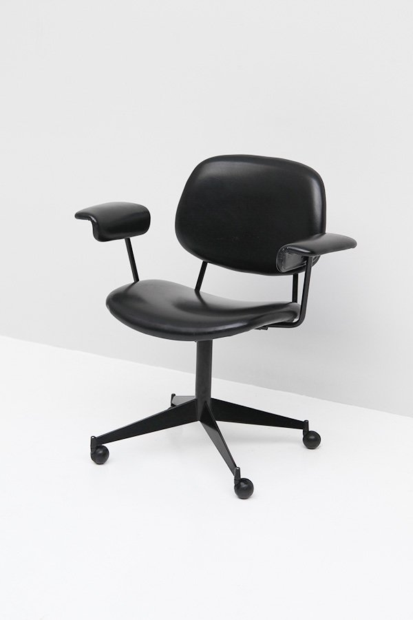 Swivel Desk Chair by BBPR for Olivetti for sale at Pamono