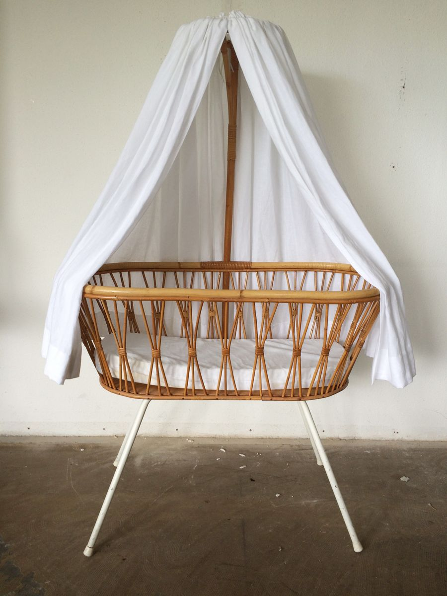 Vintage baby crib for sale - Vintage Baby Crib From Roh Noordwolde