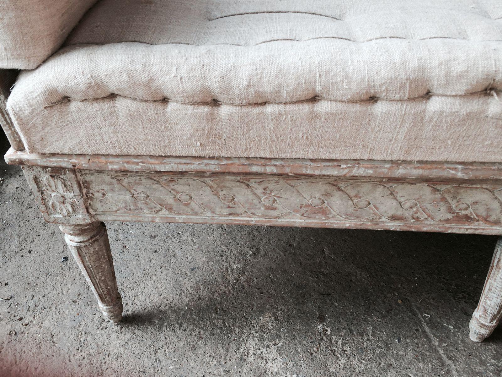 Schwedische Trag Sofa 19 Jahrhundert Bei Pamono Kaufen
