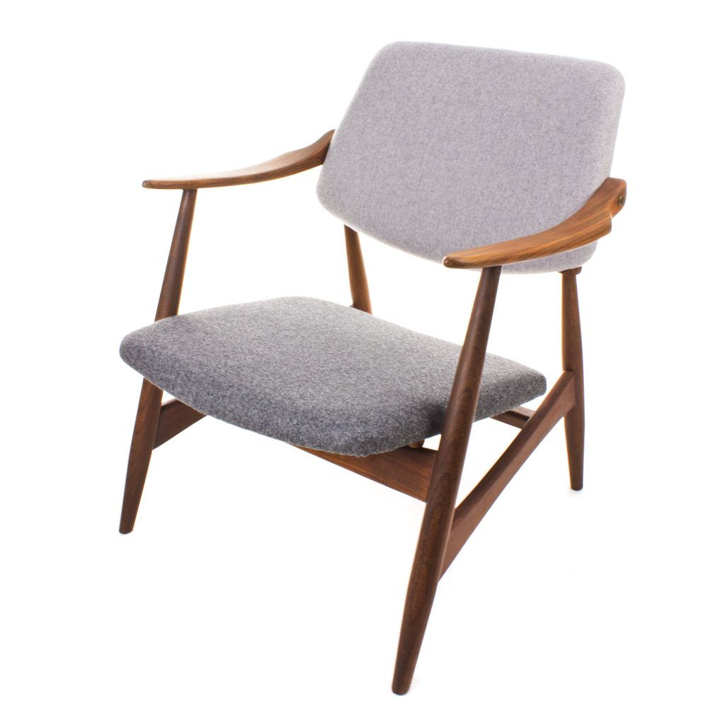 Mid Century Easy Chairs Set Of 2 For Sale At Pamono