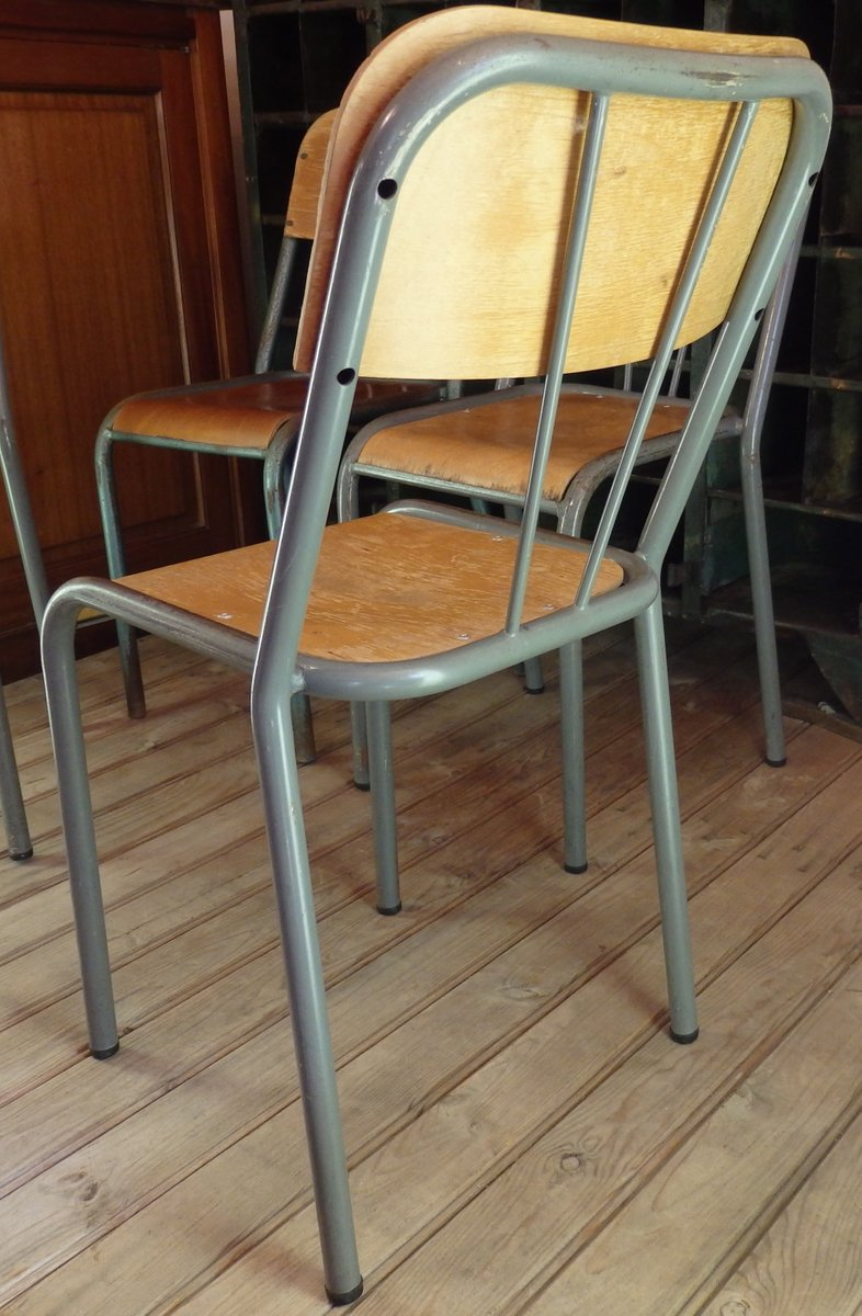 Wooden School Chair ~ Wood metal school chair s for sale at pamono