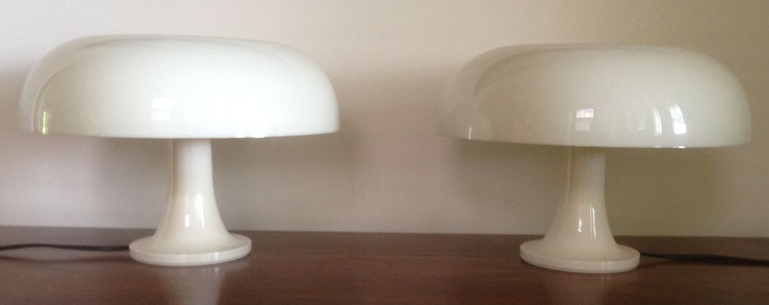 nessino lampe von giancarlo mattiolo f r artemide bei pamono kaufen. Black Bedroom Furniture Sets. Home Design Ideas