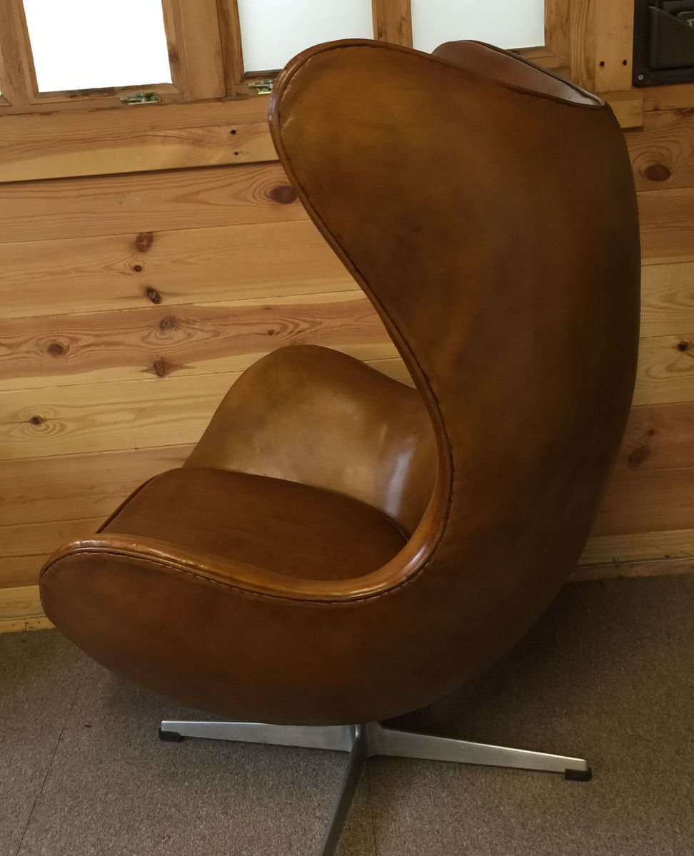 egg chair by arne jacobsen for fritz hansen 1967 for sale at pamono. Black Bedroom Furniture Sets. Home Design Ideas
