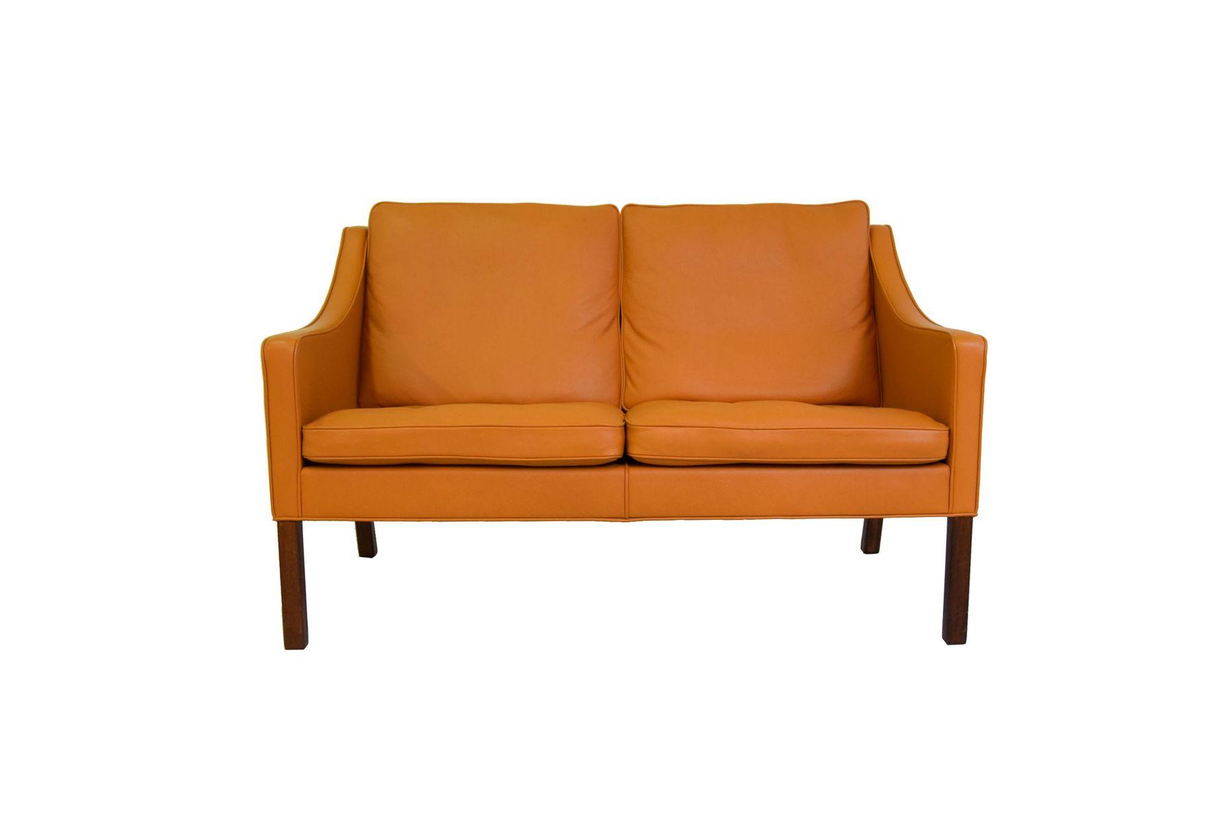 2208 zwei sitzer sofa von b rge mogensen f r fredericia furniture bei pamono kaufen. Black Bedroom Furniture Sets. Home Design Ideas