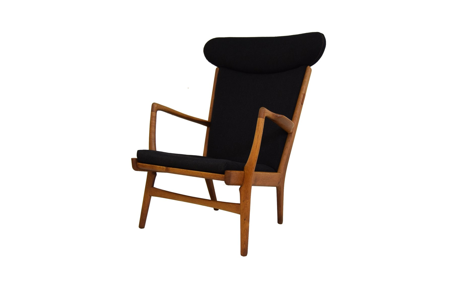 AP 15 Oak Easy Chair by Hans J¸rgensen Wegner for AP Stolen for
