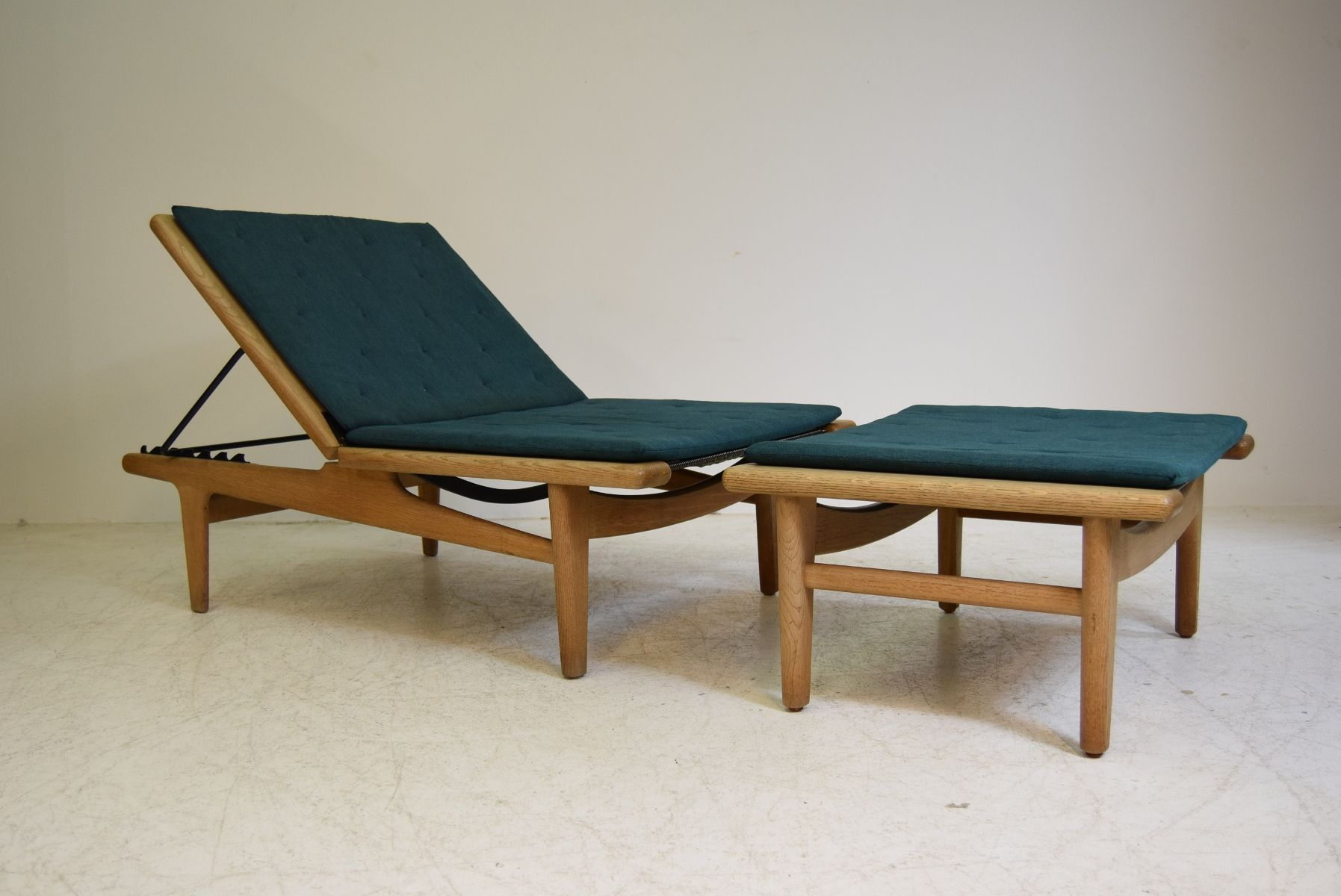 ge01 daybed by hans j wegner for getama 1950s for sale at pamono. Black Bedroom Furniture Sets. Home Design Ideas