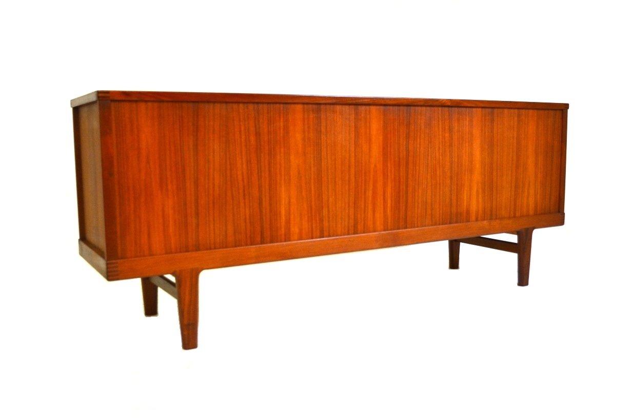 mid century danish teak sideboard 1960s for sale at pamono. Black Bedroom Furniture Sets. Home Design Ideas