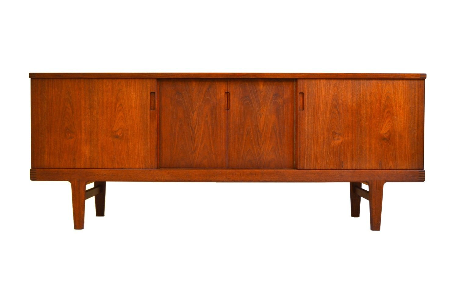 mid century danish teak sideboard 1960s for sale at pamono. Black Bedroom Furniture Sets. Home Design Ideas