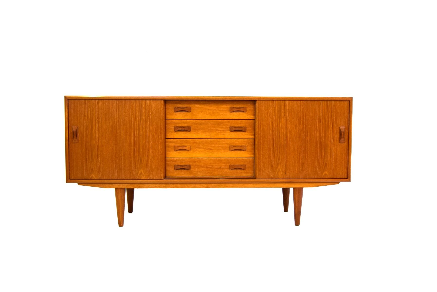mid century sideboard from clausen s n 1960s for sale. Black Bedroom Furniture Sets. Home Design Ideas