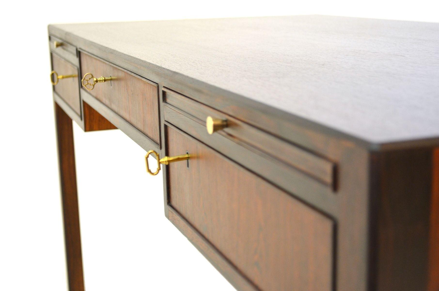d nischer mid century schreibtisch 1950er bei pamono kaufen. Black Bedroom Furniture Sets. Home Design Ideas