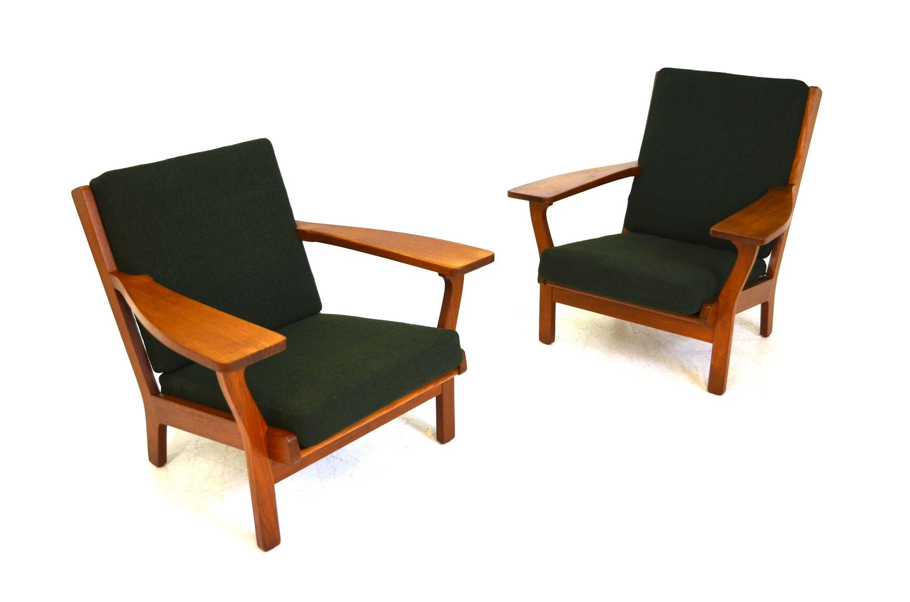 GE320 Sofa & Easy Chairs Set by Hans J Wegner for Getama 1950s