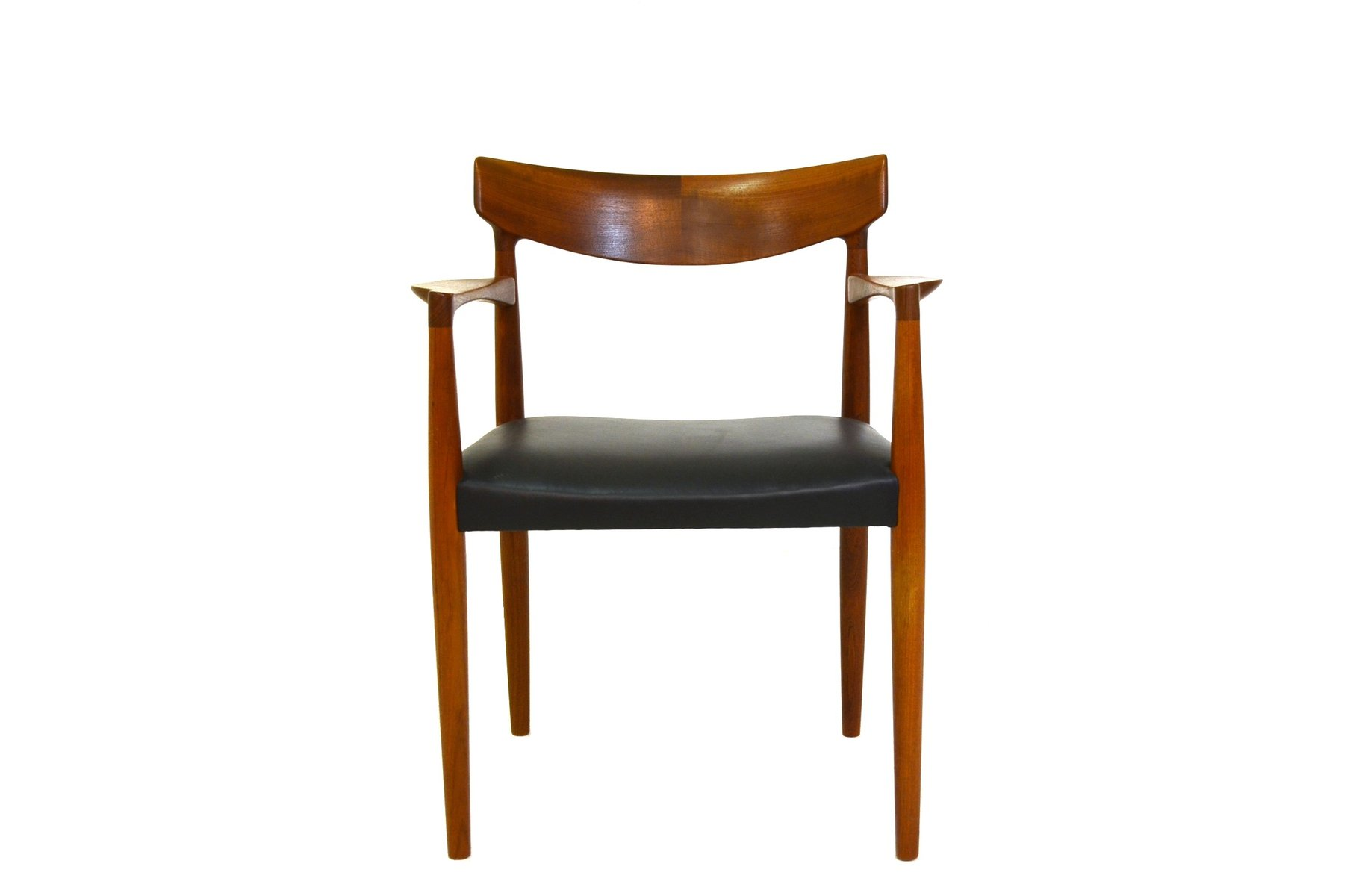 Mid Century Office Chair By Knud F Rch For Slagelse