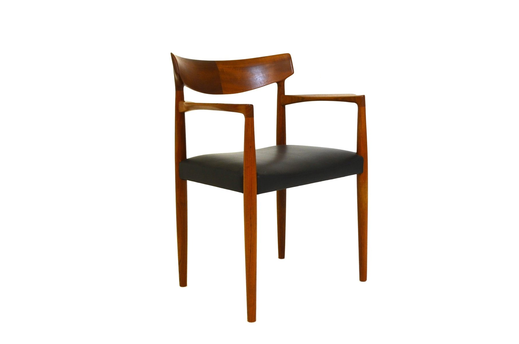 mid century office chair by knud færch for slagelse møbelværk  - mid century office chair by knud færch for slagelse møbelværk s