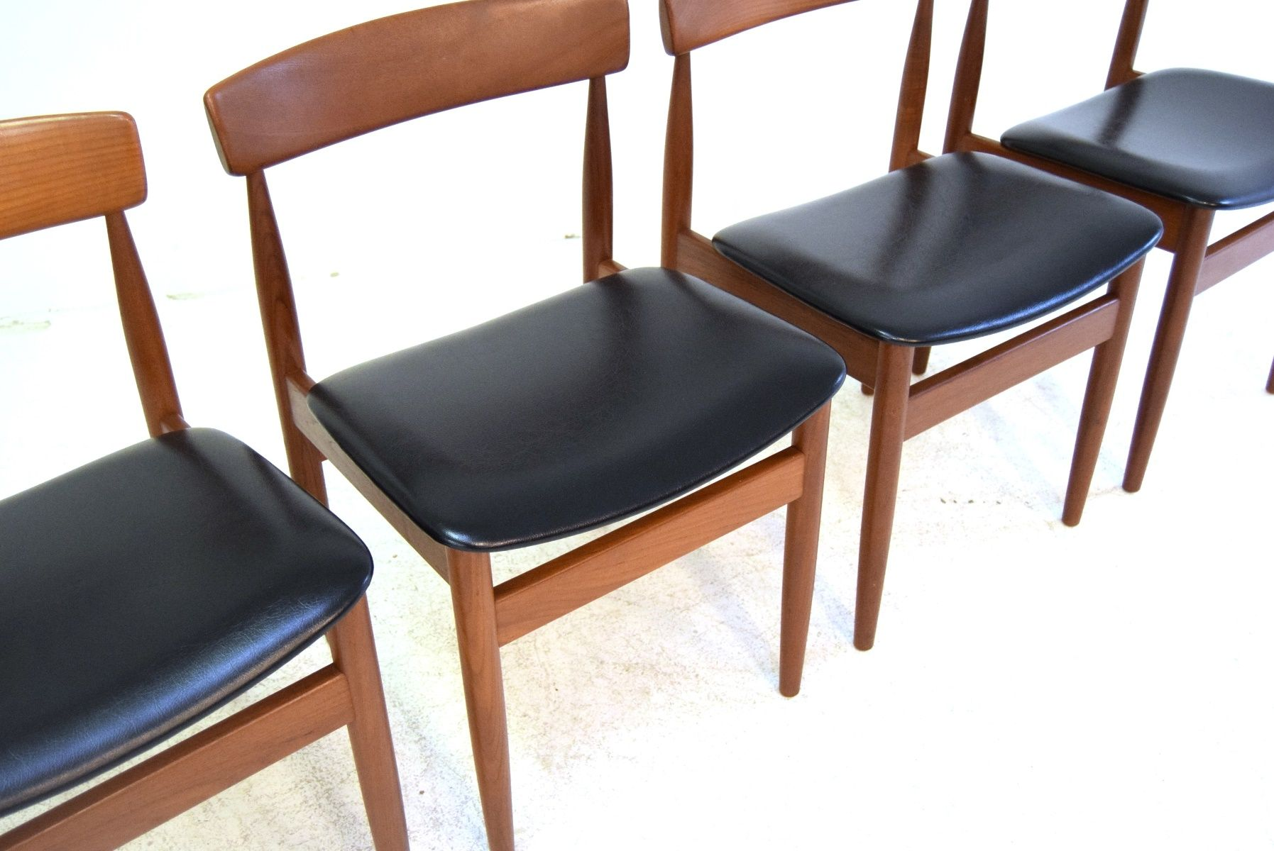 Danish Dining Chair mid century danish dining chairs, 1960s, set of 4 for sale at pamono