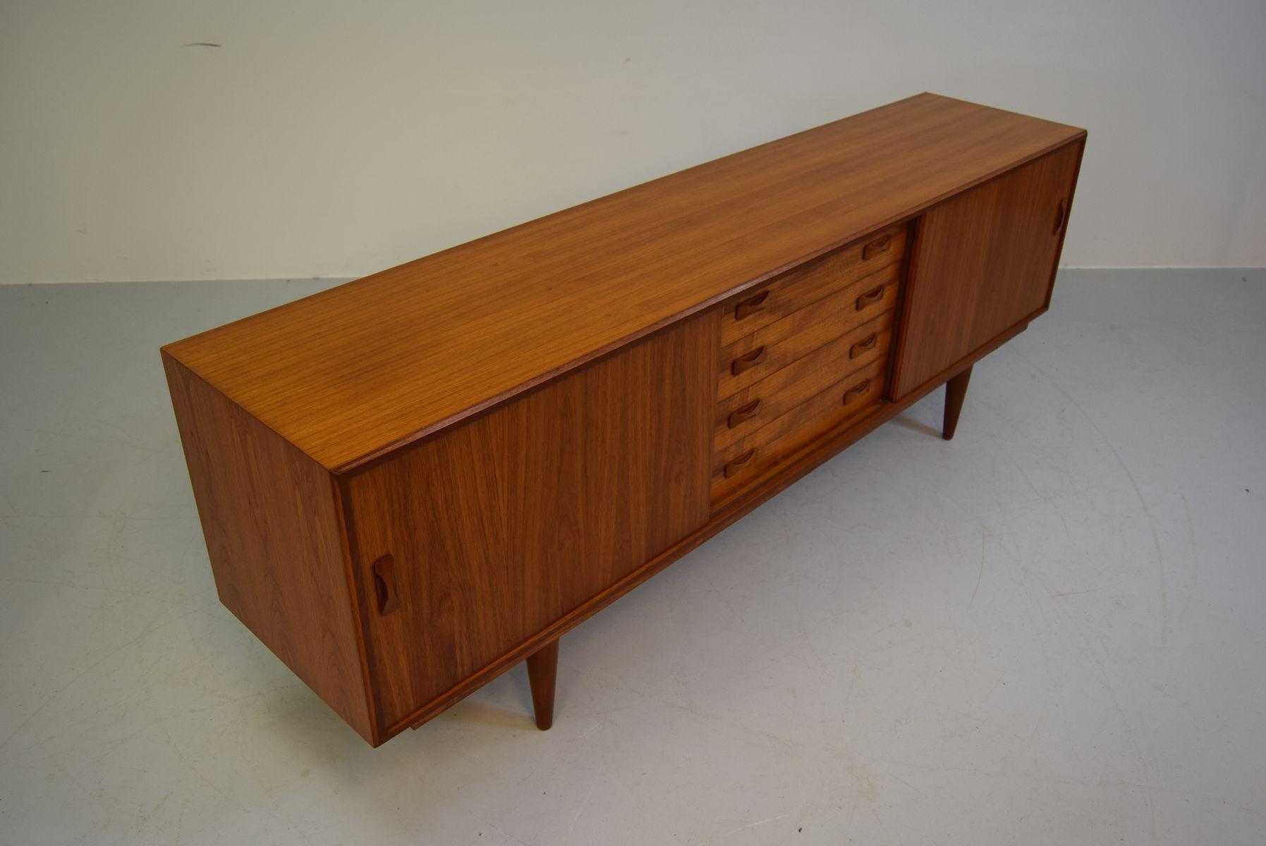 Skandinavisches teak sideboard von clausen s n 1960er for Skandinavisches sideboard