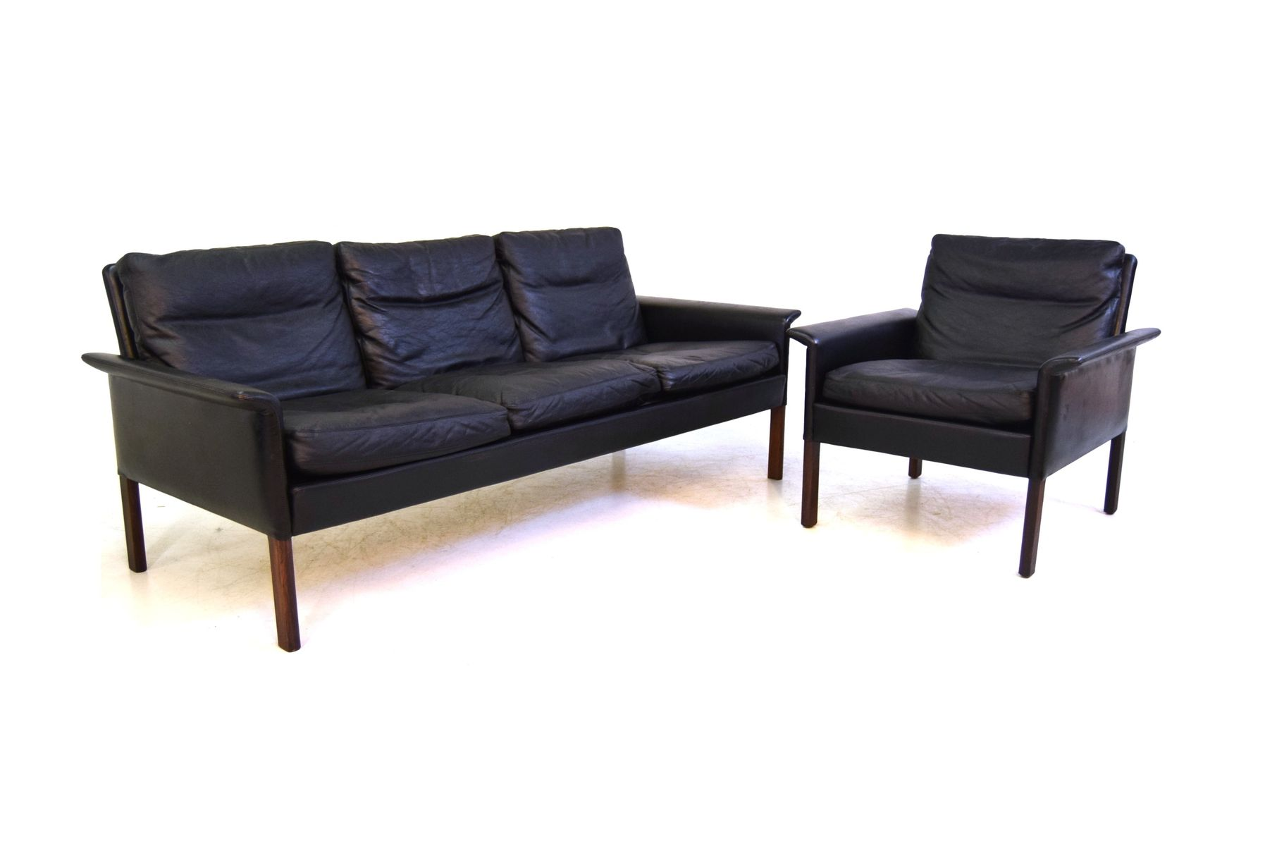 Mid Century Sofa And Easy Chair By Hans Olsen For C S