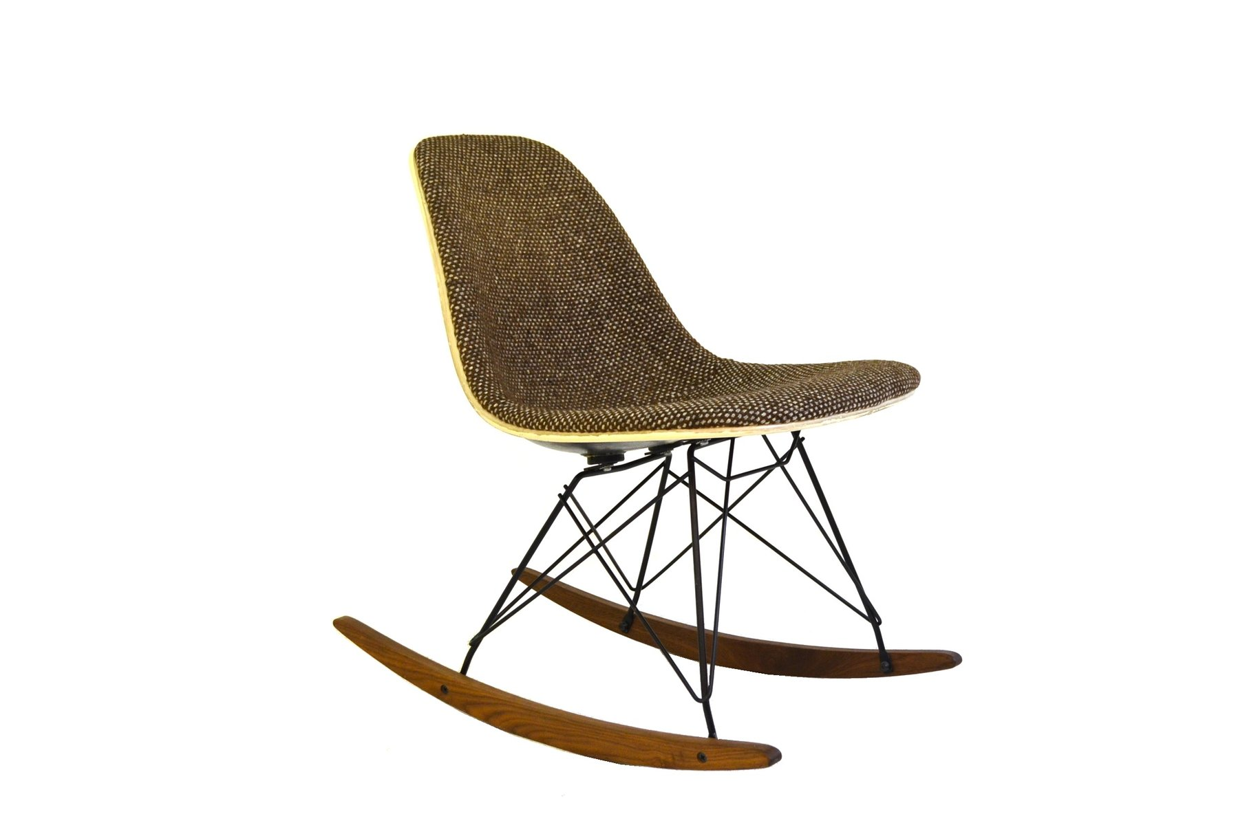 rocking chair by charles eames for herman miller 1948 for. Black Bedroom Furniture Sets. Home Design Ideas