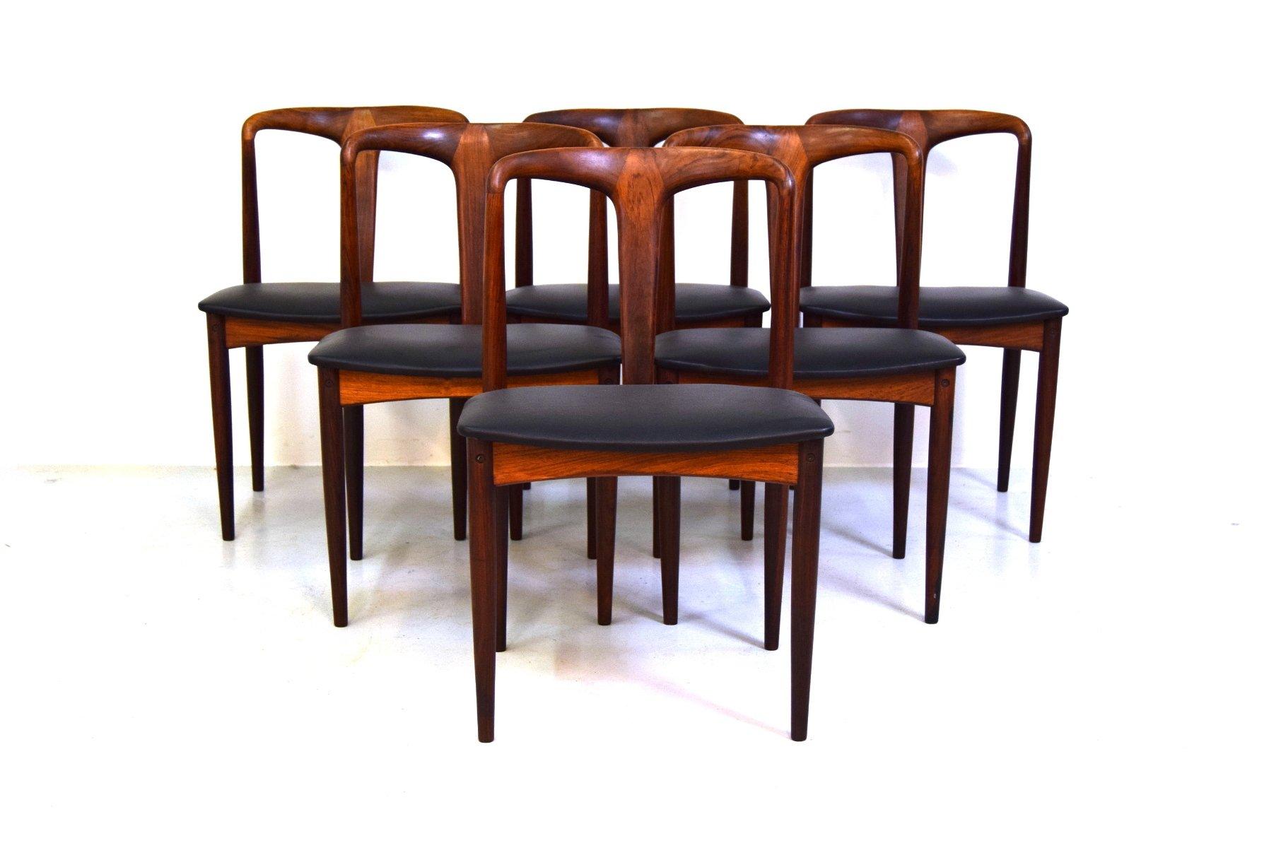 esszimmerst hle von johannes andersen f r vamo m belfabrik. Black Bedroom Furniture Sets. Home Design Ideas