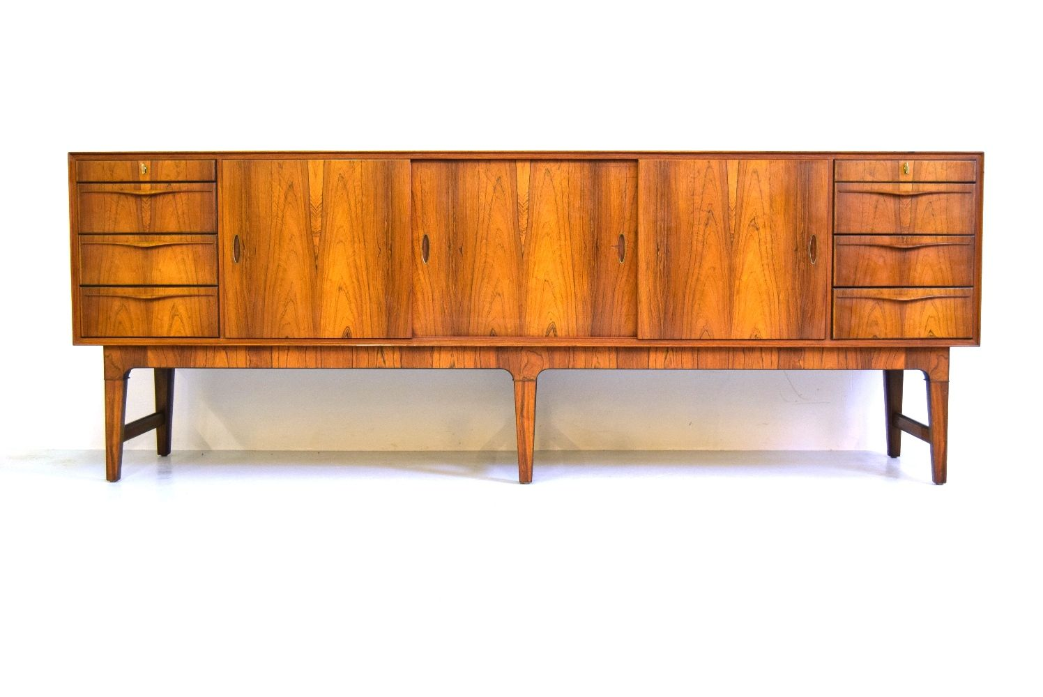 Mid century danish rosewood sideboard for sale at pamono - Sideboard mid century ...