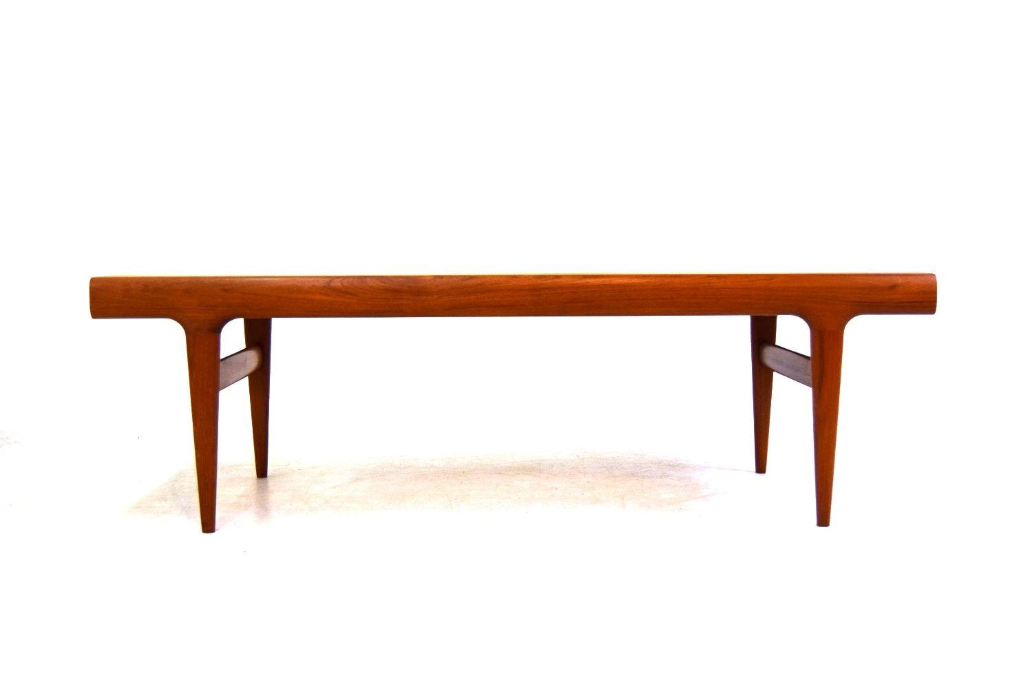 Teak Coffee Table By Johannes Andersen For Uldum M Belfabrik