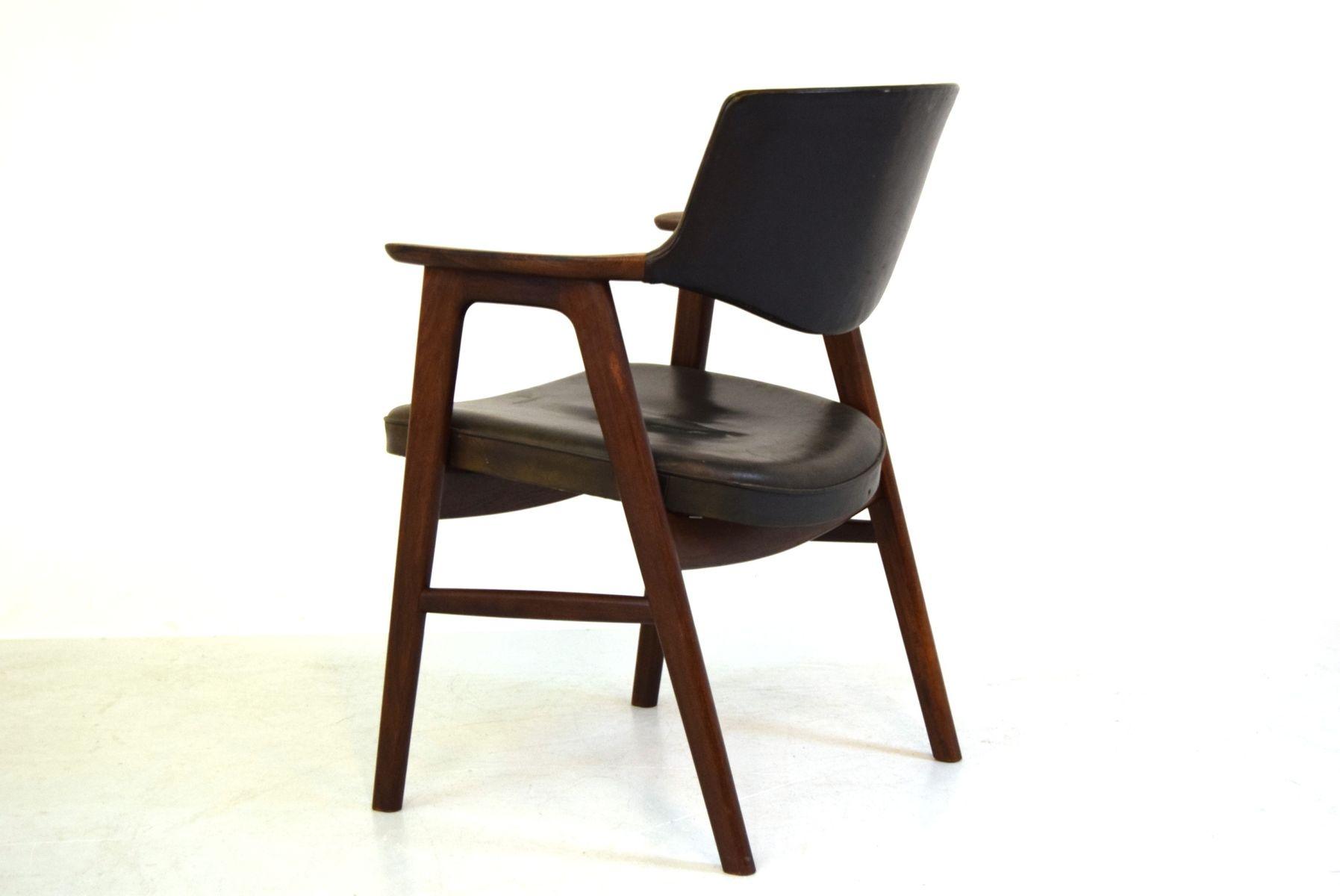 Danish Dining Chair by Erik Kierkegaard for H248ng  : danish dining chair by erik kierkegaard for hong stolefabrik 5 from www.pamono.com size 1795 x 1200 jpeg 62kB