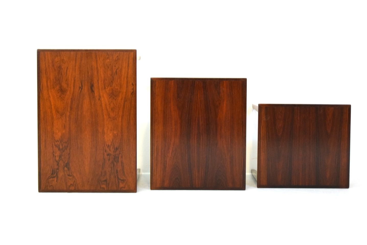 Wonderful image of Vintage Danish Rosewood Nesting Tables from VM Møbler Set of 3 for  with #B15017 color and 1436x960 pixels