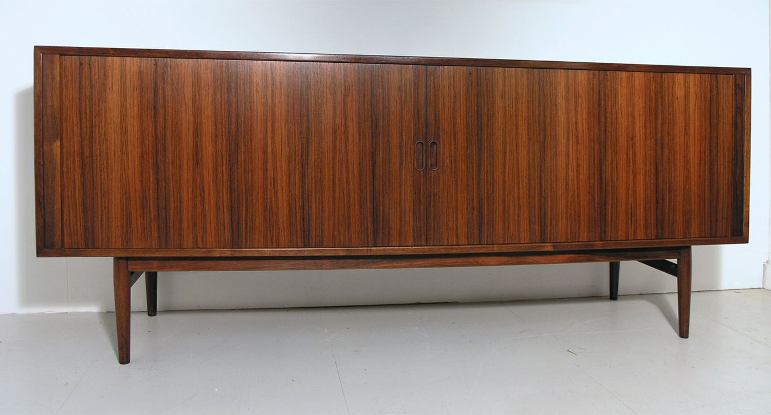 rosewood sideboard by arne vodder for sibast 1960s for sale at pamono. Black Bedroom Furniture Sets. Home Design Ideas