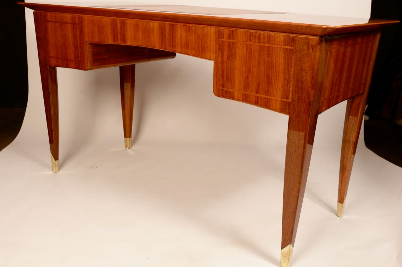 Art deco rosewood writing desk from dominique for sale at for Art deco writing