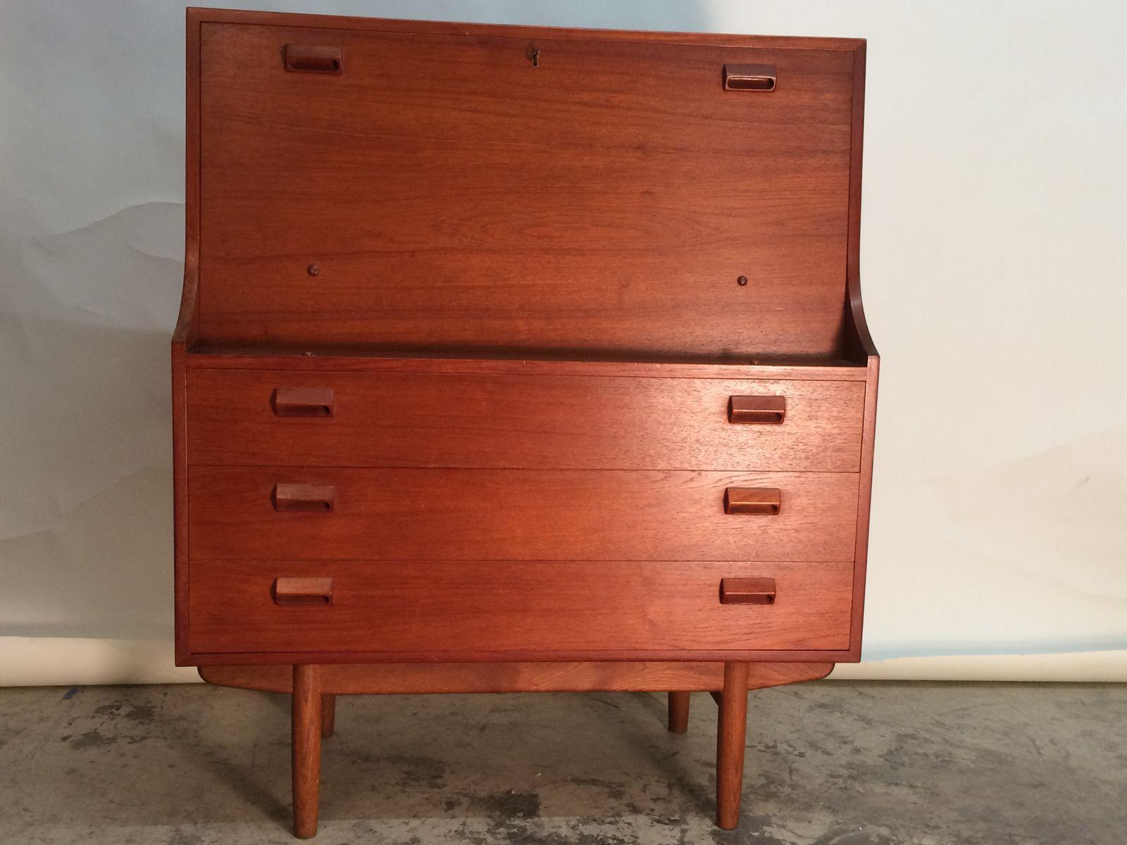 sekret r von borge mogensen f r soborg m bel bei pamono kaufen. Black Bedroom Furniture Sets. Home Design Ideas