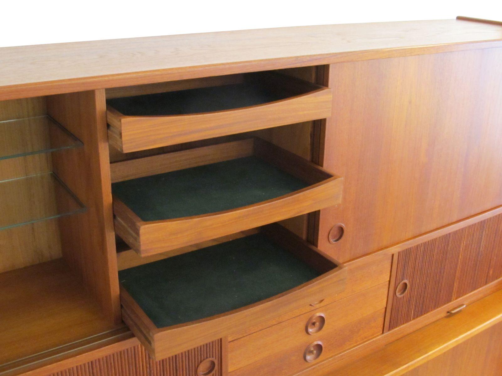 teak vintage sekret r 1960er bei pamono kaufen. Black Bedroom Furniture Sets. Home Design Ideas