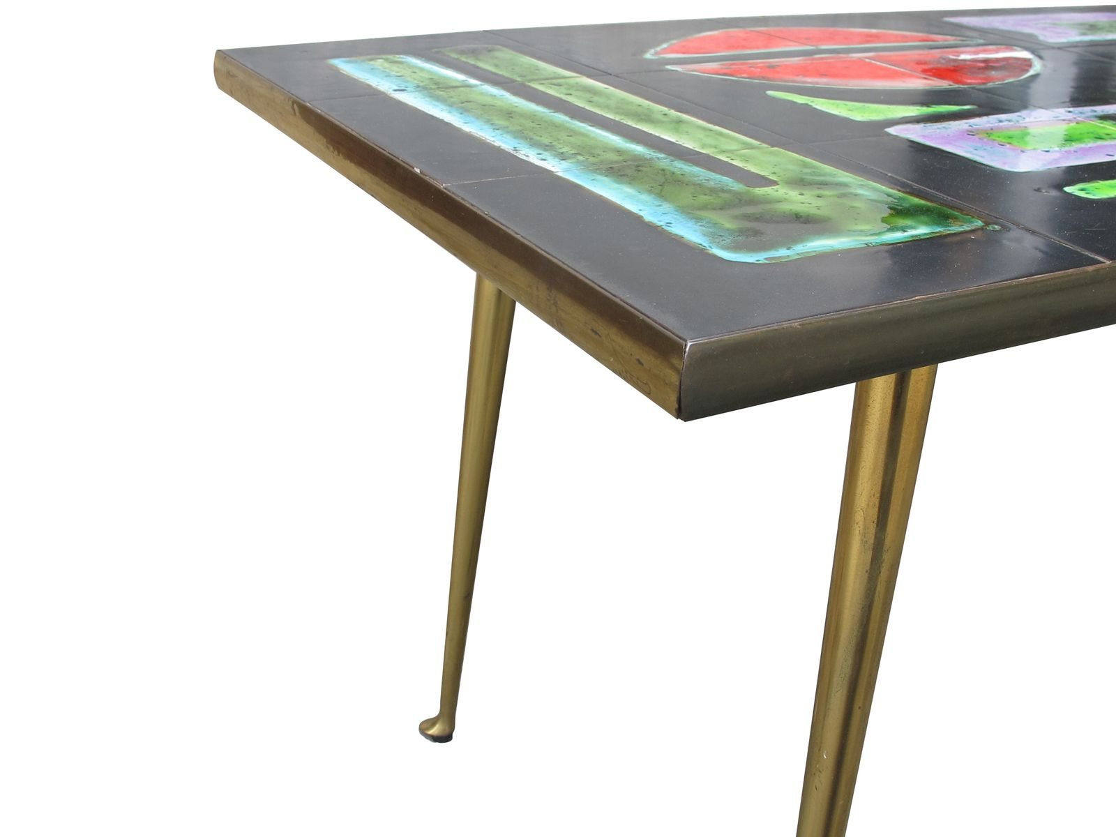 Vintage Mosaic Coffee Table For Sale At Pamono