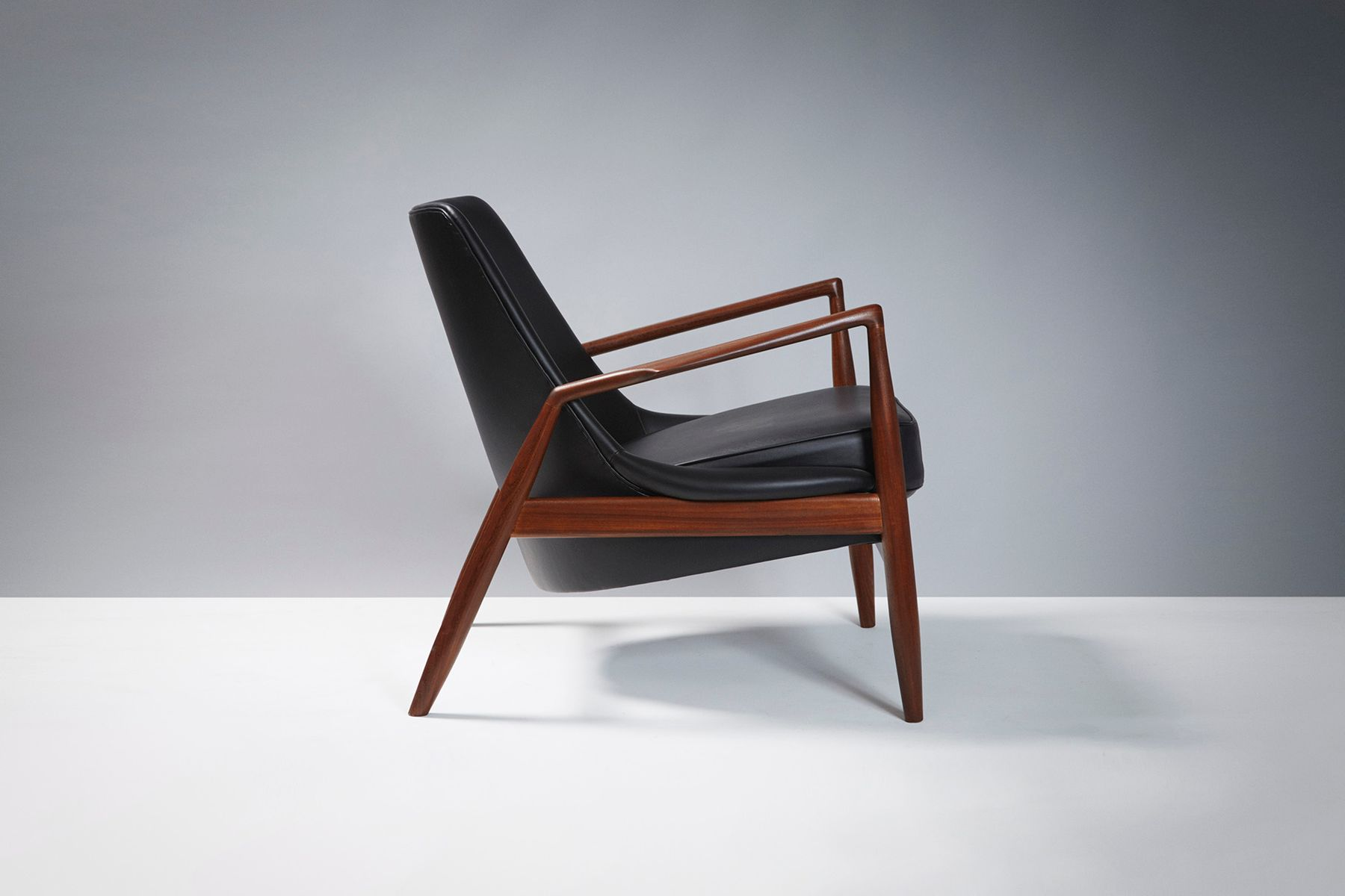 Mid Century Salen Chair by Ib Kofod Larsen for OPE for sale at Pamono